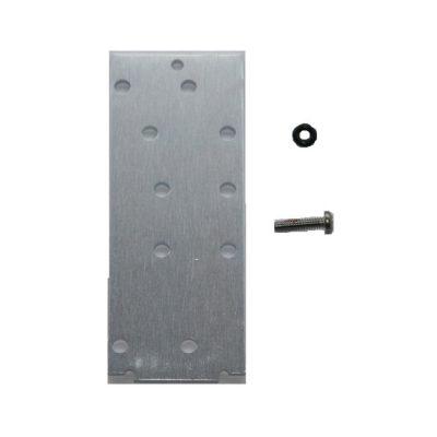 20 Slot Frame Rear Module Blank Plate